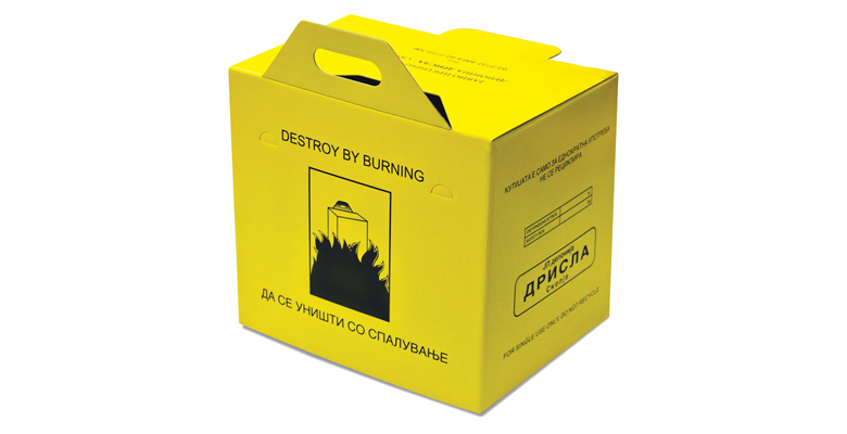 LIGHT CARDBOARD packaging